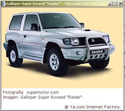 Beschreibung Galloper (angereichert mit fast 5Mio Links) - 4x4travel.org